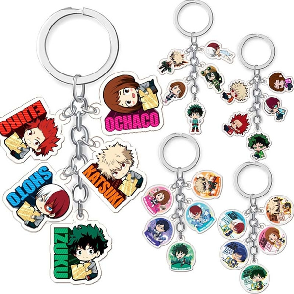 myheroacademia, Key Chain, Key Rings, Accessories