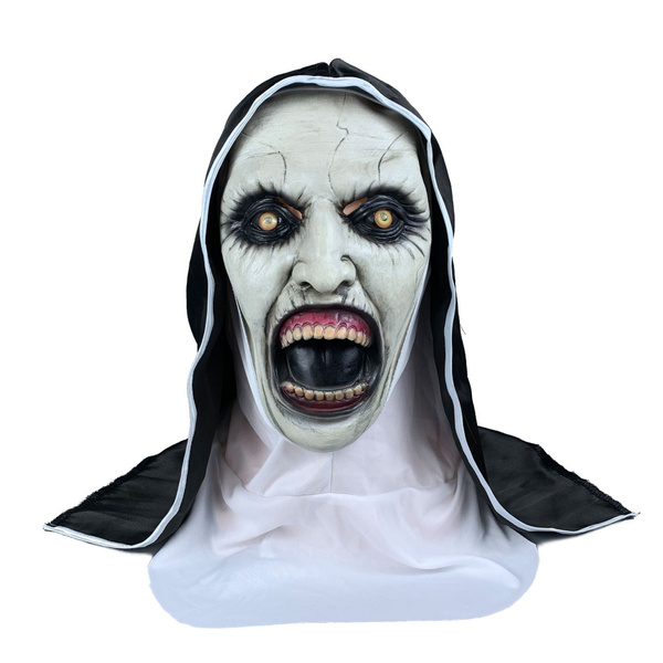 nunmask, latex, Cosplay, ghost