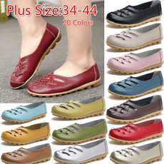 Flats, leather shoes, Womens Shoes, women casual dress