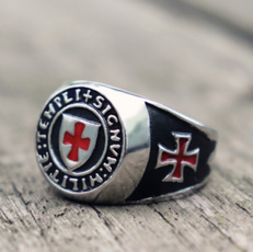 Steel, Jewerly, Stainless steel ring, punk rings