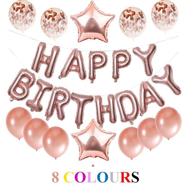 happybirthday, happybirthdayfoilballoon, latex, Aluminum