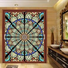 Decor, windowsticker, Home Decor, stainedglasssticker