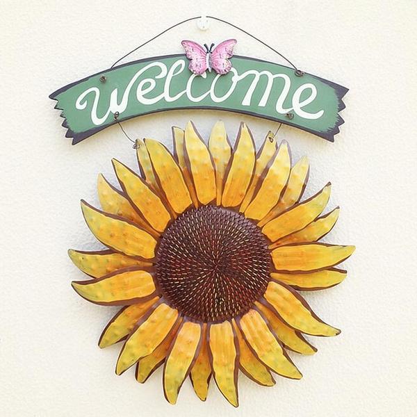 Home & Kitchen, Decor, Garden, Sunflowers