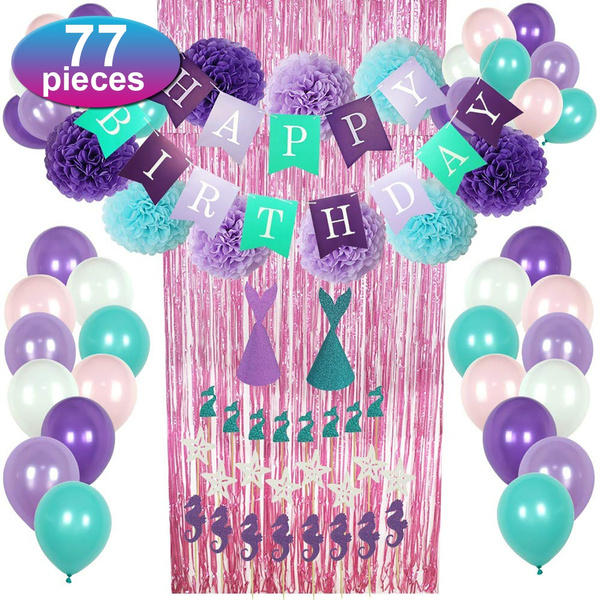 decoration, mermaidparty, mermaiddecor, Shower