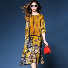 Summer, womens dresses, hotstyle, Chinese