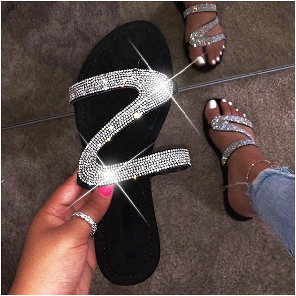 Fashion Flash Flat Sandals Casual Beach