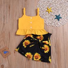 Summer, Shorts, leaf, Shirt