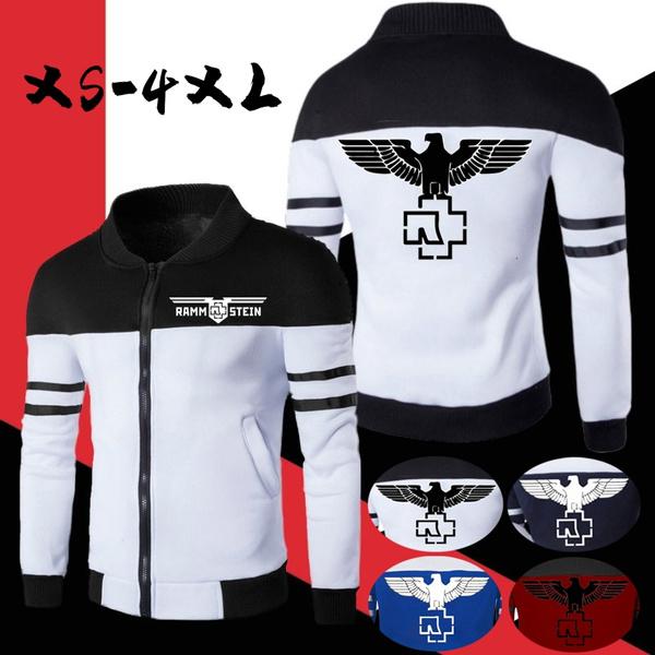 Casual Jackets, zipjacket, Fashion, rammstein