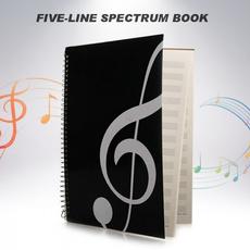 blankmusicscore, musicstavenotebook, Musical Instruments, manuscript