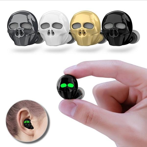 Headset, oordopje, Sport, skull