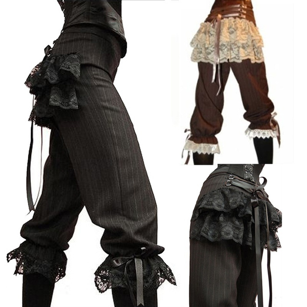 lacetrouser, Goth, Fashion, Medieval
