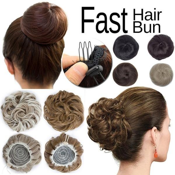 hairbun, ombrehair, chignon, drawstringhair