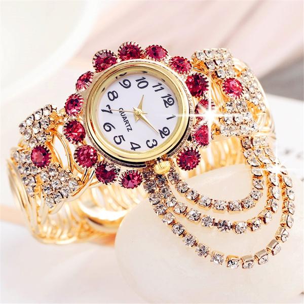 DIAMOND, Bracelet, Dress, Watch