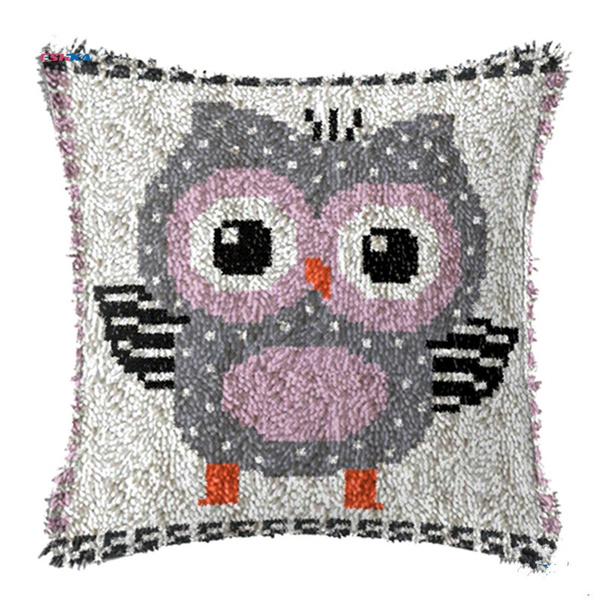 latchhookkit, Decor, Home Decor, Owl