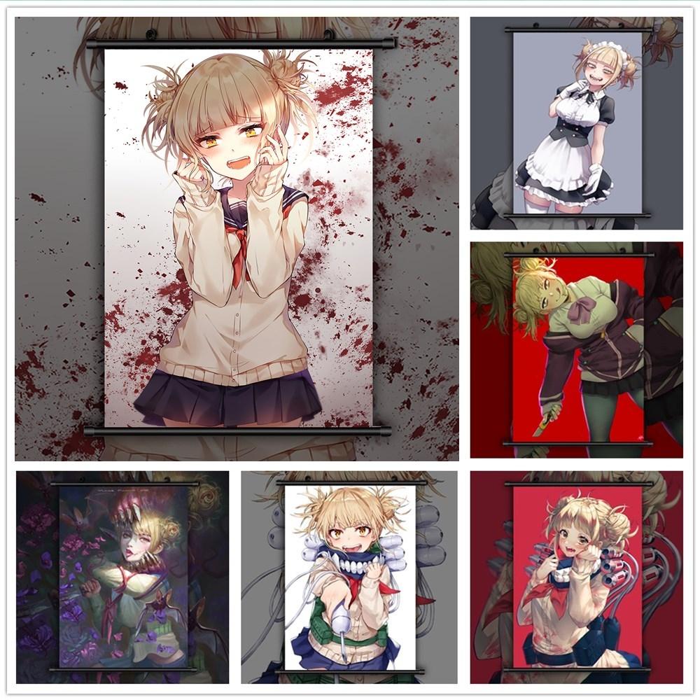 Boku no Hero Academia Toga Himiko Canvas Print Wall Poster Scroll Room Decor