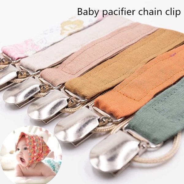 babyfunnypacifier, soothernipplechain, Cotton, babypacifierclip