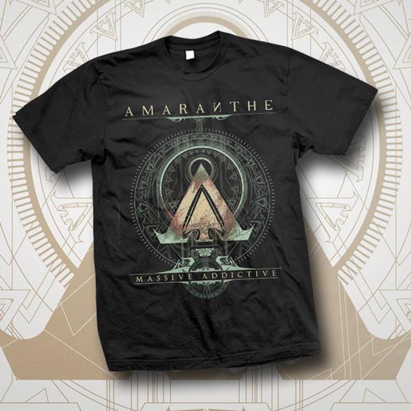 amaranthe, Short Sleeve T-Shirt, men's cotton T-shirt, roundnecktshirt