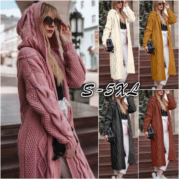 cardigan, hooded, Fashion, Sleeve