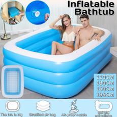 adultbathtub, Outdoor, inflatableswimmingpool, Home & Living