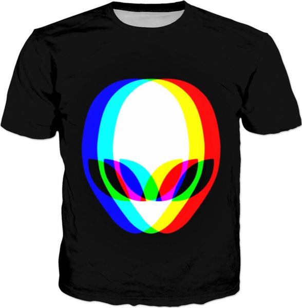 roundneckteeshirt, blacktshirtformen, Necks, Colorful
