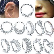 Copper, Jewelry, nosehoop, piercing