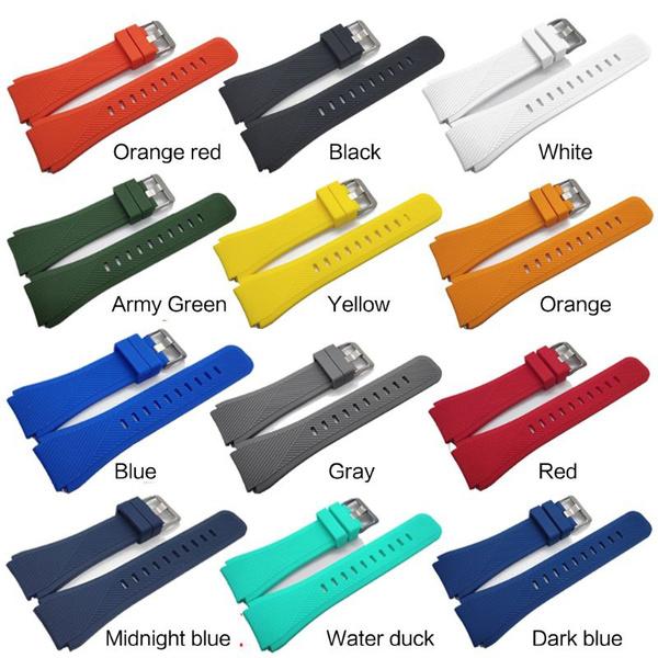 solidcolorwatchband, Fashion Accessory, samsungwatchbandreplacement, siliconewatchband