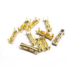 splice, connectorsswitcheswire, insulated, buttterminal
