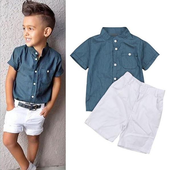 Blues, Summer, Fashion, kids clothes