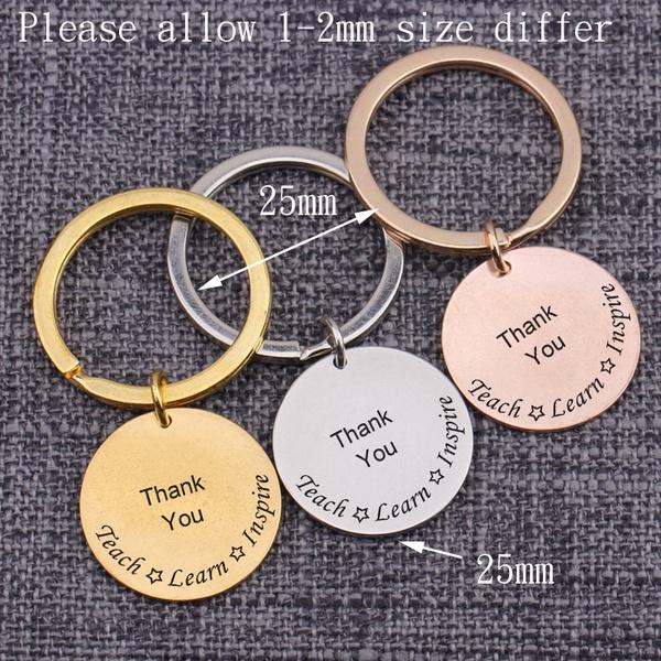 giftforteacher, keyholder, Key Chain, inspire