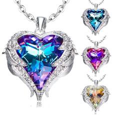 Blues, cartoonsnecklace, angelnecklace, Jewelry