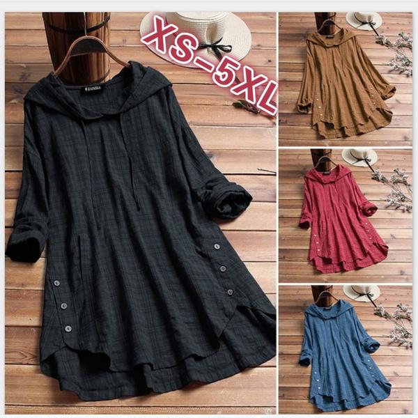 blouse, hooded, Shirt, Sleeve