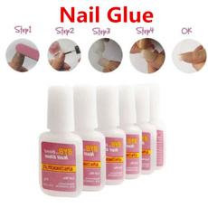 falsenailglue, nail tips, Bottle, UV Gel Nail