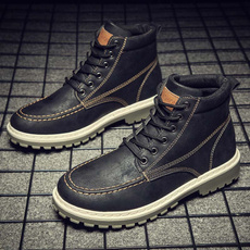 cheap shoes, leather, Mens Boots, Boots