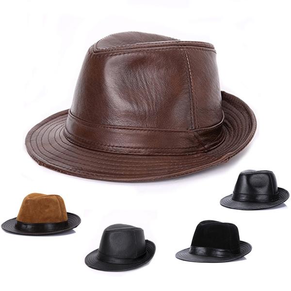 eleganthat, Fedora, fedorashat, leather