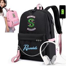 School, usb, Backpacks, southsideserpent