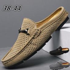 mensdressshoe, casual shoes, menssuedeslipon, Summer