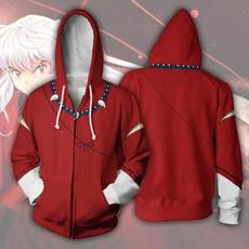 3D hoodies, Casual Hoodie, inuyasha, inuyashacosplay
