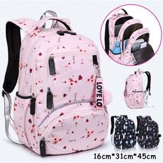 cute, School, Waterproof, Backpacks