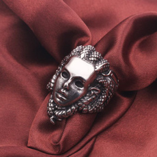 Steel, amuletring, Fashion, Jewelry