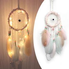 Home Decor, Gifts, Dreamcatcher, lights