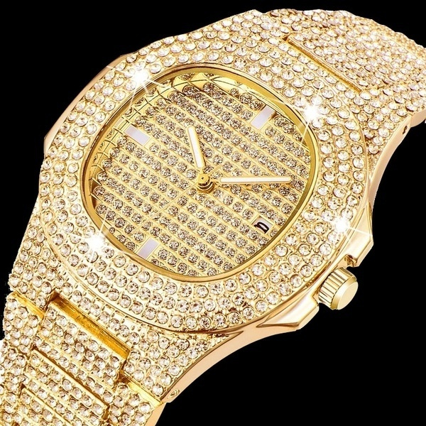 goldplated, DIAMOND, Jewelry, gold