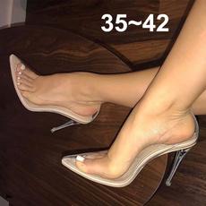 stilettosandal, Sandals, partyshoe, nude
