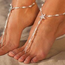 Sandals, Anklets, Chain, Bracelet
