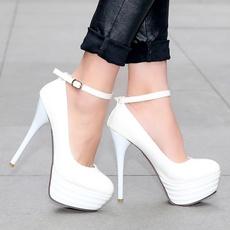 Blues, Fashion, Platform Shoes, heeledsandal