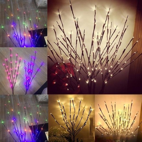 Decor, Christmas, fairylight, Bouquet