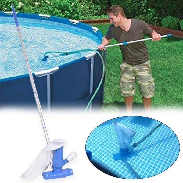 poolcleaner, wallbrush, fishpond, bathtub