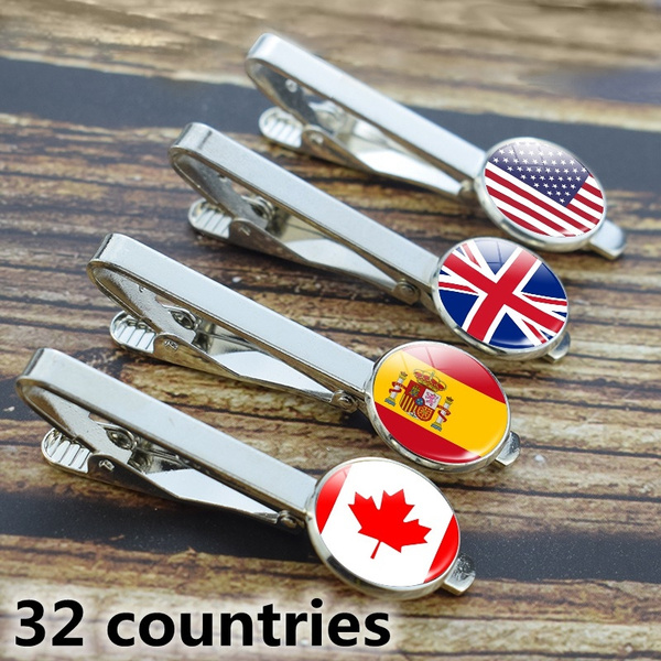 Fashion, Simple, tie clips for men, Stainless Steel