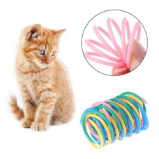 Plastic, colorspring, cattoy, Toy