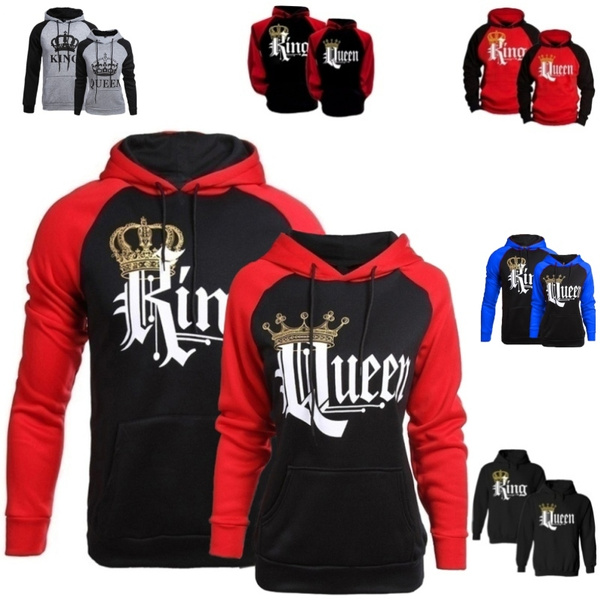 Couple Hoodies, King, Fashion, hoodiesformen