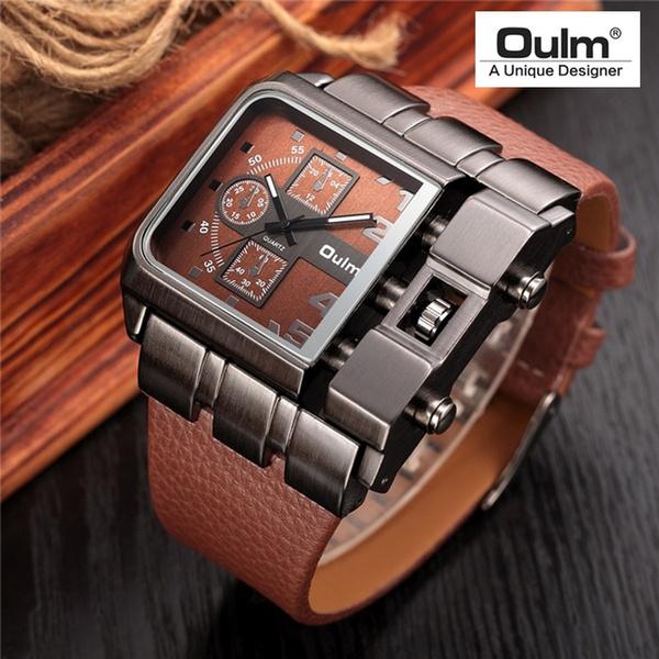 Antique, dial, quartz, leather